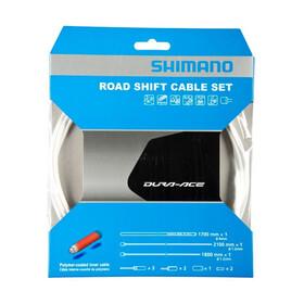Shimano Road vaihdekaapeli polymeeripinnoitettu , valkoinen